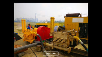 Mud Pump Station Drilling Mud Pump For HDD Machine Pipelaying Project 1500L