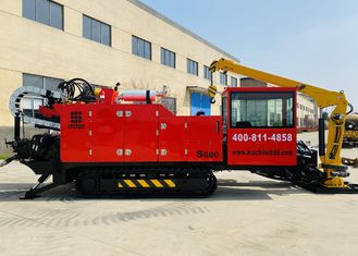 3 Speed Thrust 600KN Large Torsion Horizontal Directional Hdd Drilling Equipment