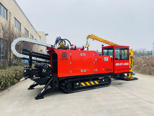 Low Working Noise 600KN Pullback Horizontal Hdd Boring Machine